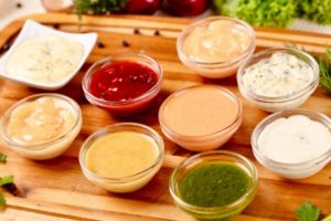 Salsas deshidratadas